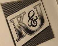"""K&J"" typography"
