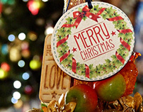 ENGRAVED -CHRISTMAS TIME- PERSONAL BRAND