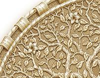 Ivory amulet. 2D Wacom & Ps