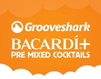 Grooveshark: Camp Bisco & Bacardi+