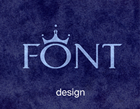 MODERN KING (typeface design)
