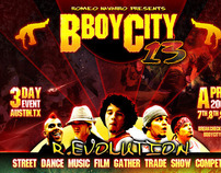 B-Boy City - Print & Graphic Design