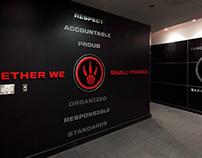 Toronto Raptors Locker Room Entranceway