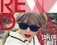 RED Taylor Swift Poster