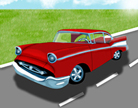 '57 Chevy Illustration