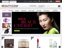 Beauty.com redesign