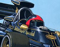 Formula 1 Paintings