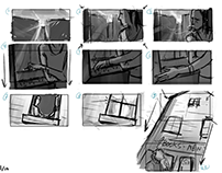 On The Bridge Between: Flowers (Storyboards)
