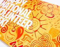 National Volunteer Week Postcard