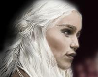 Khaleesi Fan Art [WIP]