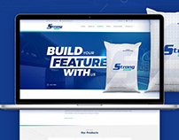 Cement Company Website Design