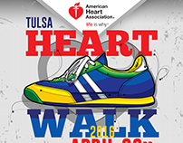 AHA Tulsa Heart Walk Poster