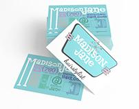 Madison Jane Logo & Businesscard