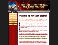 www.mycashstacker.com  || PHP , Mysql , HTML , CSS