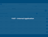 FAST - Bank Internal Application - Adobe XD