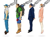 employee machine