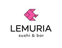 LEMURIA / SUSHI BAR // branding