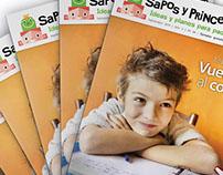 Sapos y Princesas editorial design