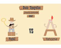 Typographic Duel