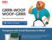 Landing Pages for OKI Printing Solutions