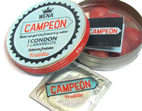 Condones + caramelos