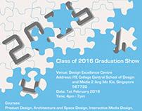 2016 Graduation Show Poster