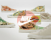 NIKE TOKI /THE MAGNIFICENT 7 joint collage project