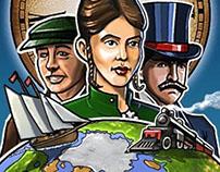 Paintcross - Around The World In 80 Puzzles (Nonogram)