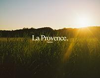 La Provence. l'amour.