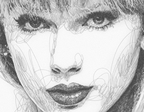 Taylor Swift Illustration