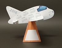 Cartoon Plane Calendar