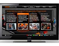 Vroom Magazine on Samsung Smart TVs