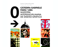 EXPO 009 GRAPHIC DESIGN #Cátedra Gabriele
