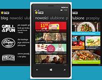 Windows 8 App Concept (phone, tablet)