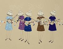 Lamp Ladies