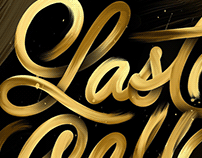 Brush Stroke Lettering - Collection
