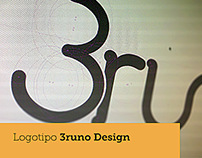Logotipo - 3runo Design
