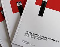 """""""Katalog der Archivalien"""" Auftraggeber SSP Formfaktor"""