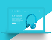 Tommy Brown  |  Landing Page design & develop