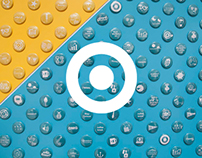 Target HQ Button Wall