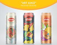 Art Juice, Packaging Designs