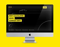 Photo equipment rental website