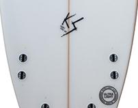 KS Semi Pro Surfboard Model
