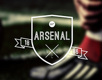 Arsenal F.C Logo Design