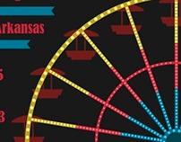 Poster - Four States Fair & Rodeo (Texarkana)
