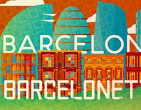 Barcelona/Barcelonetta Typefaces