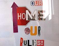 Collage \ Decoración para el hogar