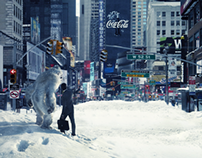 Winter Arrives Coca Cola