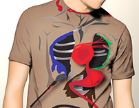 Fameless T-Shirt (Artwork © Kazi Hoque)