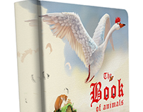 "Interactive book for kids ""The Book of Animals"""